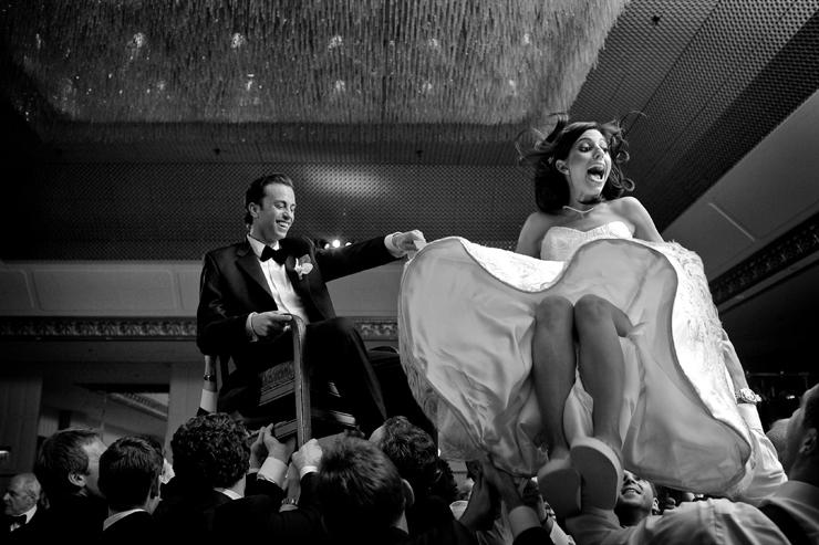 Ritz Carlton Wedding Hora Kevin Weinstein Photography 0037